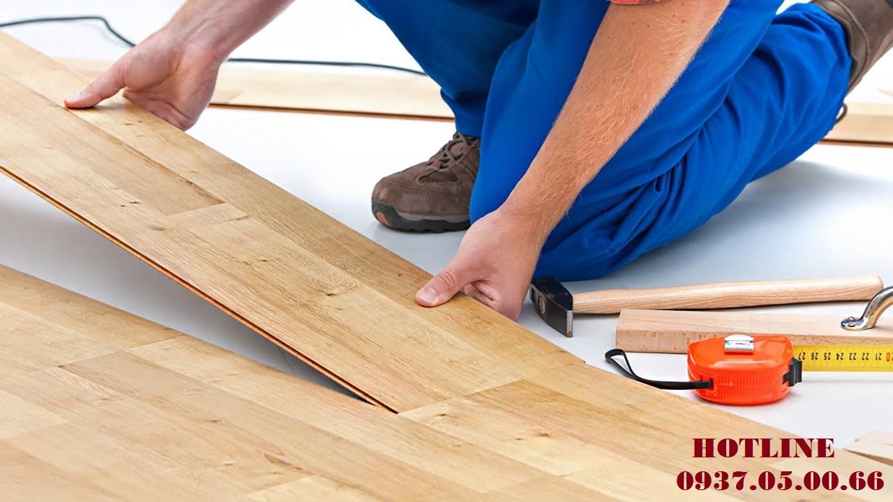 làm sàn gỗ công nghiệp